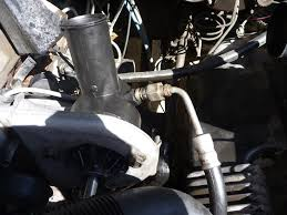 88 Ford Diesel Truck - how to power steering pump replacement ford truck enthusiasts
