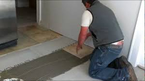 Ceramic Tile Flooring Installation How To Install Ceramic Tiles On A Floor