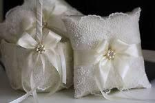 wedding baskets wedding basket pillow set ebay