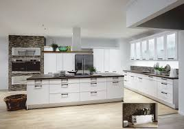 lacquered white german kitchen affordable german kitchens