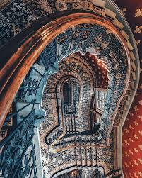 st pancras renaissance hotel staircase london england
