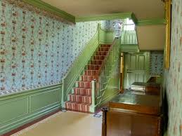 interior photos of the cottage and village towne model wallpaperscholar com the salem towne house hallway old sturbridge