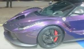 purple laferrari