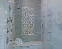 stylish transitional master bathroom before and after san diego