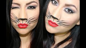 maquillaje gatita cat halloween makeup youtube