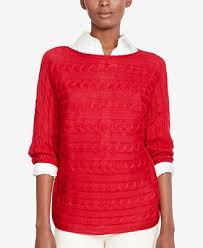 macy s ralph sweaters ralph cable knit boat neck sweater a macy s