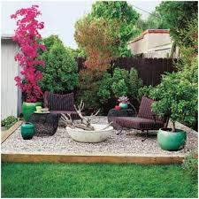backyards fascinating front yard pea gravel patio mulch amp