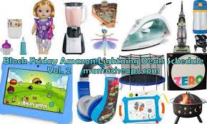 black friday amazon tablet black friday amazon lightning deal schedule vol 2 baby alive