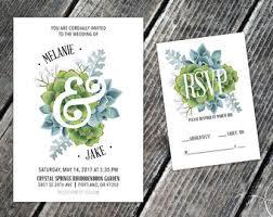 succulent wedding invitations succulent wedding invitations summer wedding invitations