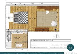 plan chambre suite parentale 18m2 avec chambre dressing salle de bain plan