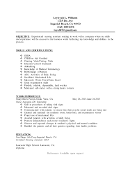 Nursing Assistant Resume Example by Cna Resume Example