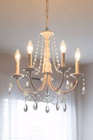 How To Make Crystal Chandelier 33 Cool Diy Chandelier Makeovers To Transform Any Room Diy Joy