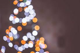 christmas tree bokeh lights background free stock photo download