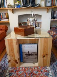 offbeat home decor easy diy coffee table from wine crates offbeat home u0026 life