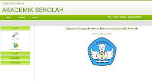 membuat database akademik dengan mysql sistem informasi akademik sekolah berbasis web dengan php dan mysql