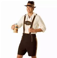 Farmers Halloween Costume Cosplay Men Beer Clothing German Style Oktoberfest Beer Festival