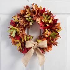 autumn decorations thanksgiving wreaths autumn decorations world market