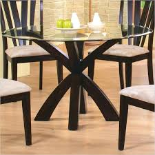 60 round glass dining table perfect traditional glass dining tables with acme vendome double