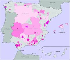 Spain Regions Map by Spanish Wine