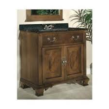 36 Vanity With Granite Top Foremost Ashburn 36 Inch Vanity Cabinet In Mahogany