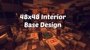 Minecraft Interior Design 48x48 Factions Base Tour Minecraft Factions Interior Design Ep 2
