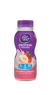 dannon light and fit yogurt drink protein smoothies light fit