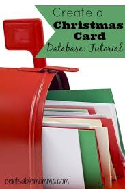 create a christmas card create your own christmas card database tutorial centsable momma
