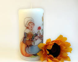 pilgrim candles thanksgiving pilgrim candle etsy