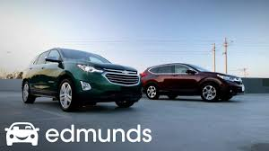 2018 chevrolet equinox vs 2017 honda cr v comparison review