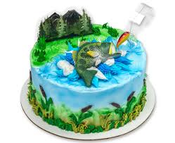 fisherman cake topper large bass fish topper fisherman s birthday cake topper fishing
