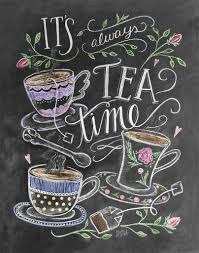 it u0027s always time for tea print u0026 canvas teas printing and tea