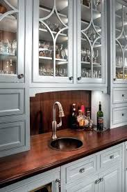 wet bar sinks and faucets wet bar faucets wet bar wood top copper sink traditional sinks and