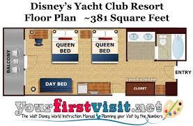 Centre Bell Floor Plan by Review Disney U0027s Yacht Club Resort Yourfirstvisit Net