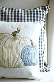 fall pillow love decorating for fall with pillows stonegable there is so much to love about this fall pumpkin pillow the colors the embroidery the size the great linen like construction the zipper closure and the