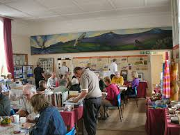 christmas craft fair at the bog visitor centre stiperstones