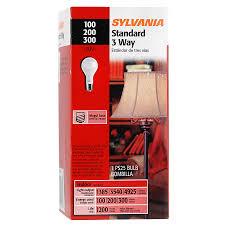100 200 300 light bulb shop sylvania 100 200 300 watt 3 way general purpose light bulb at