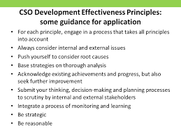 1 background to cso development effectiveness 2 what is the open