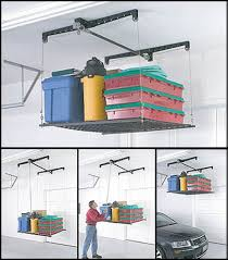 build your own garage storage lift home design ideas