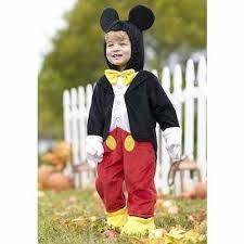 Mickey Mouse Halloween Costumes Mickey Mouse Inspired Costume Boys Babies Kids Childrens