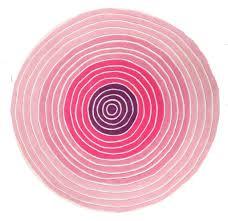 Large Kids Rug Rugs Pink Circle Rug Arresting Pink Round Crochet Rug U201a Pleasant