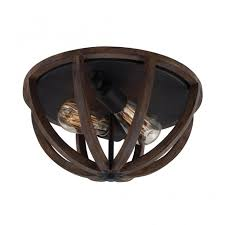 rustic ceiling lights uk oak wood dome flush fit ceiling light for rustic settings