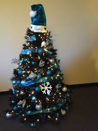 san jose sharks black and blue treetopia tree ronald