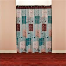 Black Ruffle Shower Curtain Bathrooms Awesome Farmhouse Style Shower Curtains Farmhouse