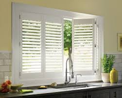 Kitchen Window Shutters Interior Modern Plantation Shutters For Sliding Glass Doors Regarding 2016
