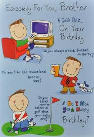 cards for brothers birthday birthday cards
