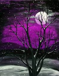 easy acrylic painting ideas trees search painting