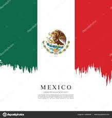 mexican flag banner template u2014 stock vector igor vkv 137863166
