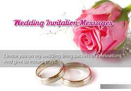 wedding invitations messages best wedding invitation sms messages text greetings