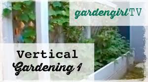 Verticle Gardening by Garden Tv Vertical Gardening One How To Grow Vertically