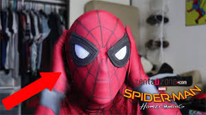 spider man homecoming zentaizone suit unboxing youtube